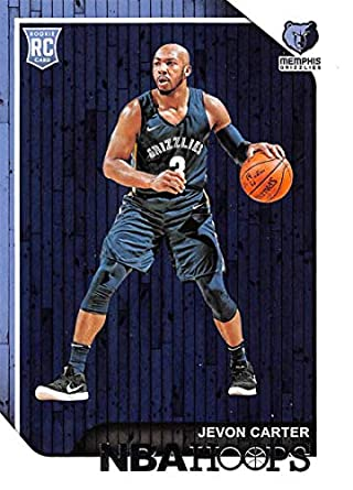 5c13af9d34c 2018-19 NBA Hoops Basketball #271 Jevon Carter Memphis Grizzlies RC Rookie  Card made
