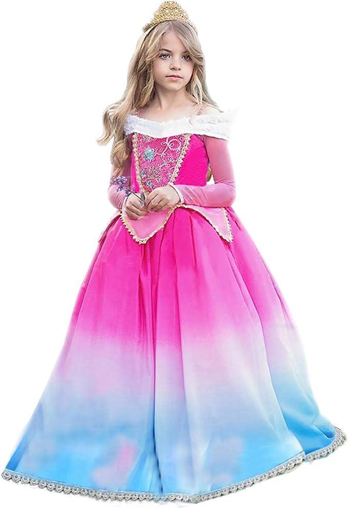 Vestido de princesa Aurora Sleeping Beauty Grimms Fairy Tales ...