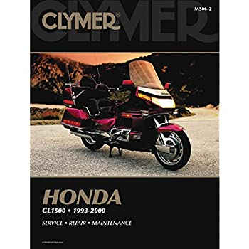 amazon com clymer repair manual for honda gl1500 goldwing 93 00 rh amazon com Goldwing Honda Motorcycle Wiring Diagrams Starter Relay Wiring Diagram