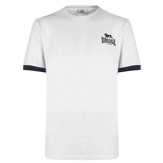 Lonsdale Hombre Small Logo Camiseta Manga Corta: Amazon.es: Ropa y ...