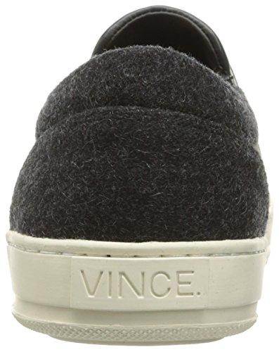 Vince Mens Ace Mode Sneaker Grafiet Voelde