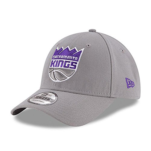 New Era NBA 9FORTY Sacramento Kings Hat The League Adult Adjustable Cap Gray