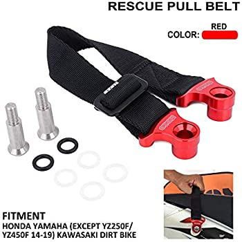 AnXin Rescue Traction Strap Pull Sling Belt Safety Accessories Universal For Most Of Motorcycle Dirt Bike Pit Enduro HONDA YAMAHA KAWASAKI SUZUKI KTM