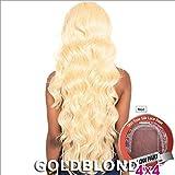ISIS Brown Sugar Human Hair Blend Silk Lace Wig - BS610 (4