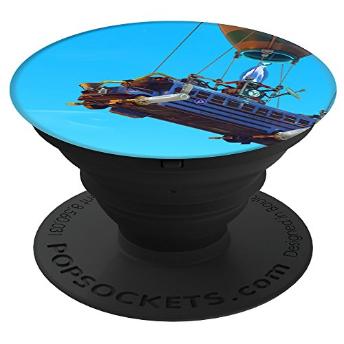 Electronics : Fortnite Battle Bus PopSockets Stand for Smartphones and Tablets