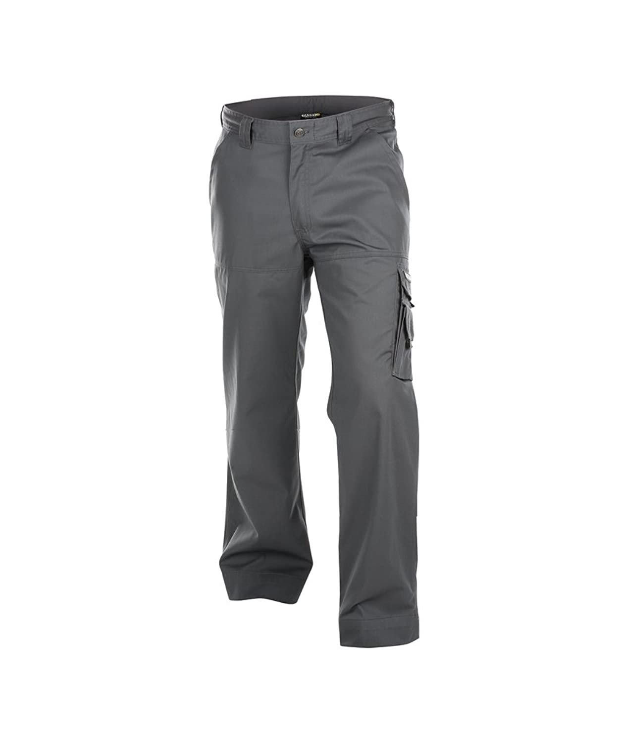 Dassy Liverpool 100% Cotton Cargo Work Trousers - Triple Needle Stitched - Grey