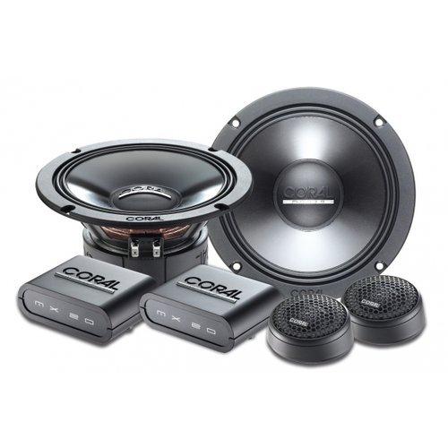 Coral Electronic MK 165 altavoz audio - Altavoces para coche (De 2 ví as, 92 Db, 240W, 16,5 cm, 4,9 cm) Negro