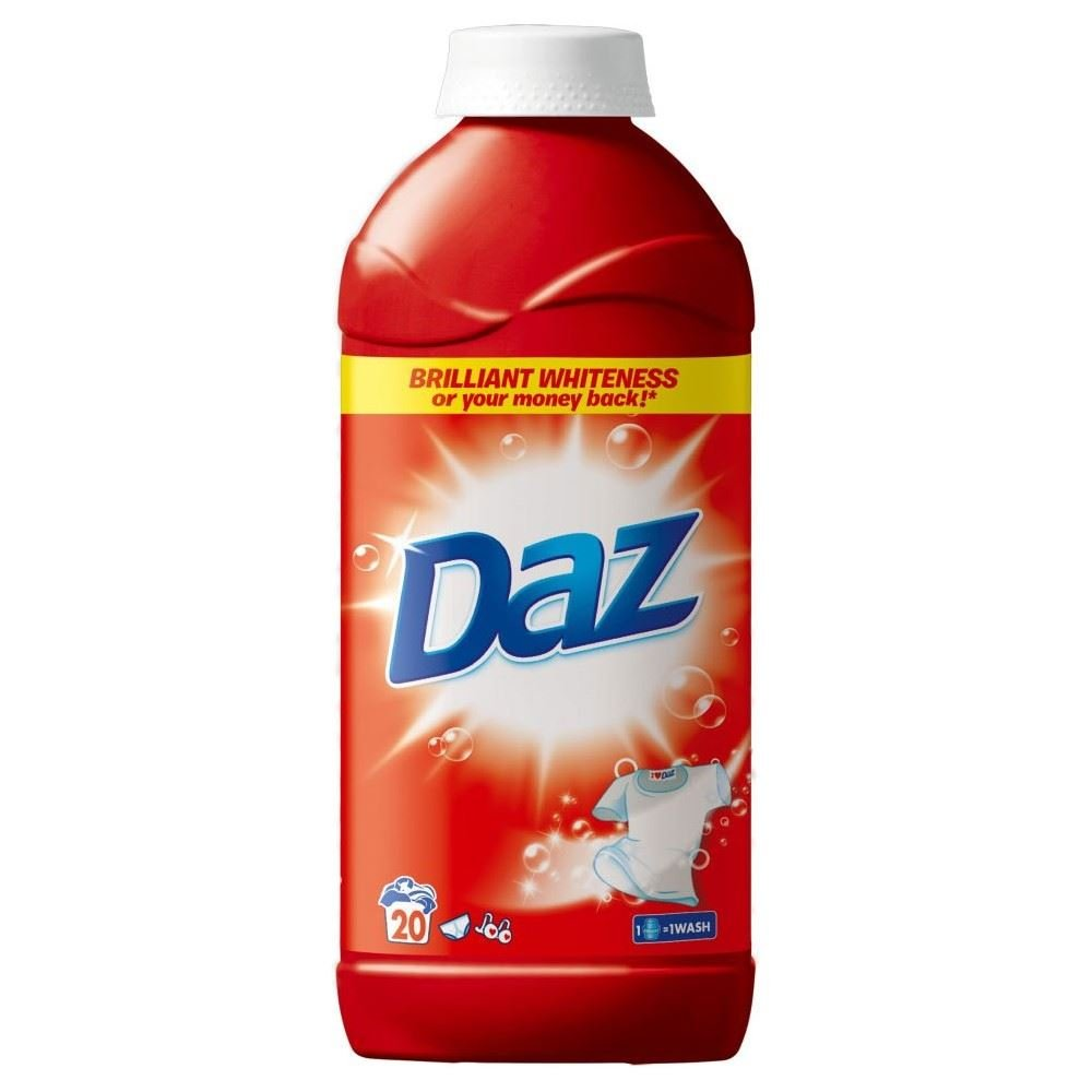 Daz Laundry Liquid Regular - 20 Washes (1L) Grocery