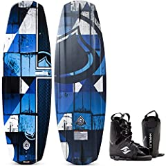 The bindings in this package are available in one size, 8-12. The recommended weight range for a 131cm cm wakeboard is 110-150lbs. The binding sizes are based on availability of the bindings. If you like this package but don't see your size p...