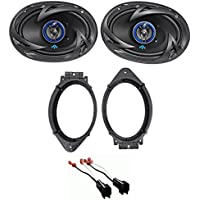 2015-2017 Chevrolet Chevy Suburban Autotek 6x9 Front Speaker Replacement Kit