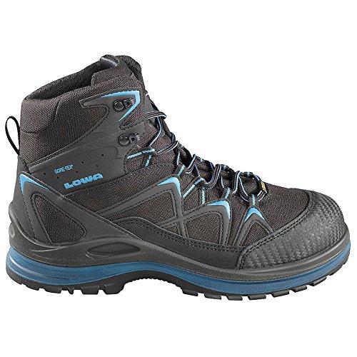 Elten 5940-42 Chaussures de sécurité Lowa Innox Work GTX Blue Mid S3 Taille 42