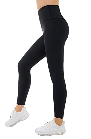 7b6279035fdbd Naked Feeling 7 8 Yoga Pants - High Waist Workout Running Pants for Women