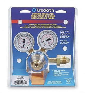 Regulator, Cylinder, Nitrogen, CGA-580: Gas Welding Accessories ...