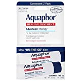 Aquaphor Healing Skin Ointment, Advanced Therapy, 2 Pack, 0.35 oz ea (Pack of 24) For Sale