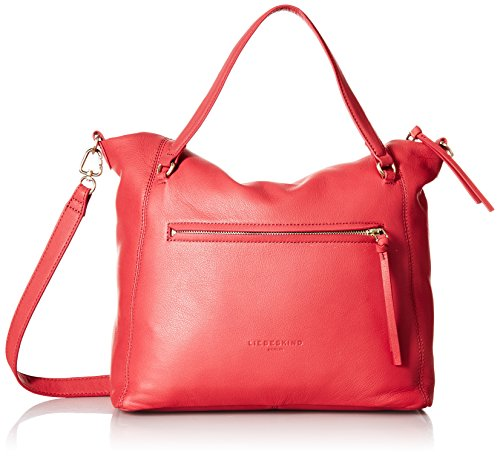 Liebeskind BoweryF8 Borsa a mano pelle 32 cm red_coral, rot