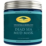 (9.2 oz) Dead Sea Mud Mask for Face Facial - 100% Natural - Pore Minimizer, Deep Skin Cleanser, Acne Care, Blackhead and Whitehead Remover and Oiliness Reducer for a Tighter Skin and Clear Complexion