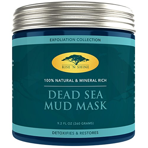 Dead Sea Mud Mask for Face Facial - 100% Natural - Pore Minimizer, Deep Skin Cleanser, Acne Care, Blackhead and Whitehead Remover and Oiliness Reducer for a Tighter Skin and Clear Complexion
