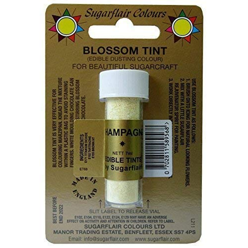 Sugarflair Blossom Tint Dusting Colours, Oyster