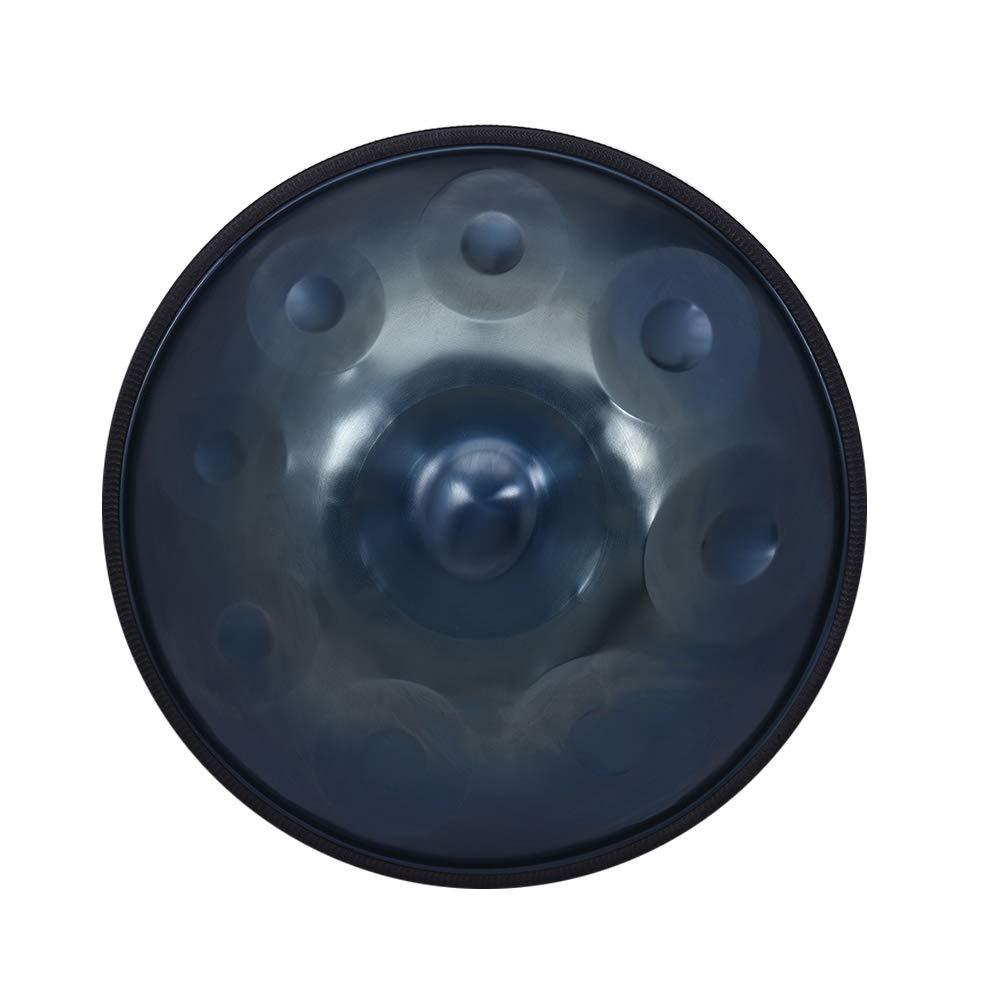 アンマーショップ Muslady 9ノート ハンドパン ハンセン 9ノート ハンドドラム 炭素鋼材質 打楽器 炭素鋼材質 打楽器 キャリーバッグメタルスタンド付き B07H2WP6CP ブルー, マツキ:df309b8e --- go-mo.uk