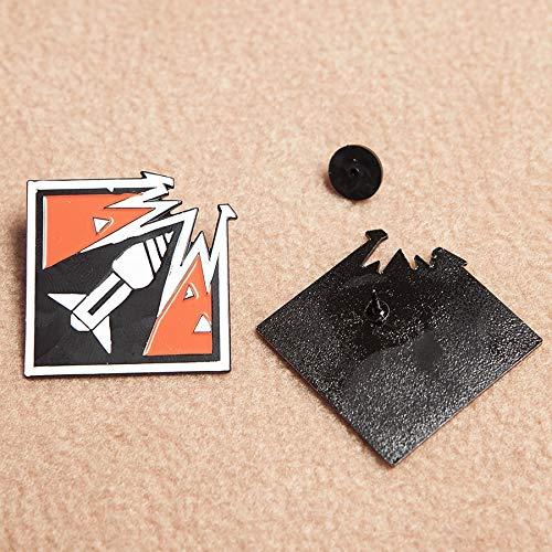 Lapel Pin FanFit Gaming Six Siege Ash Enamel Pin Ash Operator Icon 6 Collection