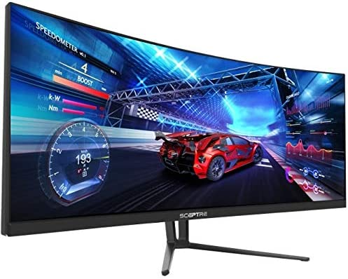 Sceptre C355W-3440UN 35 Inch Super Curved Ultrawide 21: 9 LED Creative Monitor
