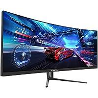 Sceptre C355W-3440UN 35 Inch Super Curved Ultrawide 21: 9 LED Creative Monitor QHD 3440x1440 Frameless AMD Freesync HDMI DisplayPort Up to 100Hz, Machine Black 2020