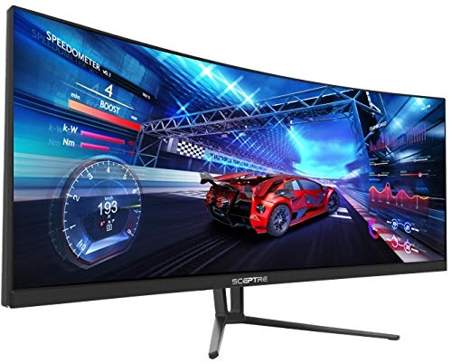 Sceptre C355W-3440UN 35 Inch Curved UltraWide 21: 9 LED Gaming