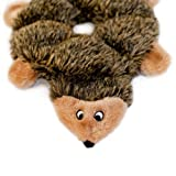 ZippyPaws-Loopy-6-Squeaker-Plush-Dog-Toy-Hedgehog