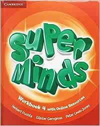 Super Minds Level 4 Workbook Pack with Grammar Booklet