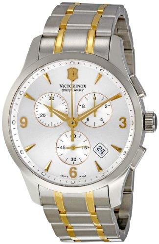 Victorinox-Mens-241481-Alliance-Analog-Display-Swiss-Quartz-Two-Tone-Watch
