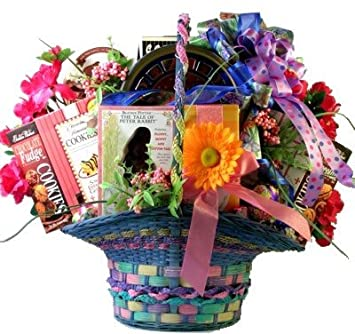 Amazon grand family easter premium easter gift basket for grand family easter premium easter gift basket for children or families deluxe negle Choice Image