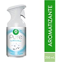 Air Wick Pure Aromatizante en Aerosol sin Agua, Soft Cotton, 250 ml