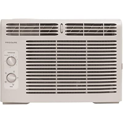 Frigidaire FRA082AT7 8,000 BTU Mini Compact Window Air Conditioner with 3 Fan Speeds and 8 Way Air Di,
