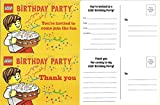 Lego Birthday Party Invitations - Pack of 10 Invitations