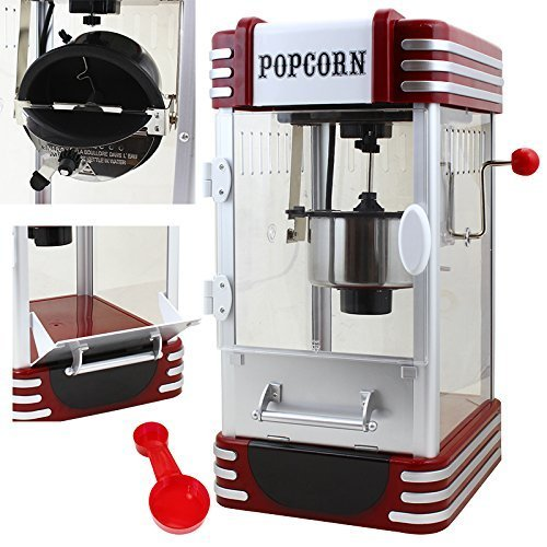 XtremepowerUS TableTop Electric Popcorn Machine
