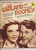 1972 Screen Greats magazine, Judy Garland & Mickey Rooney (Screen Greats A Series no.9 Collector's Treasure 1972)