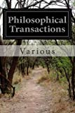 Philosophical Transactions, Various, 1499522509