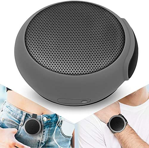 ANCwear Transportable Bluetooth Audio system Wi-fi Mini Speaker with Enhanced Bass,HD Sound,Wearable Speaker with Microphone,9.5H Playtime,IPX6 Waterproof Appropriate for Sports activities,Out of doors Journey and House