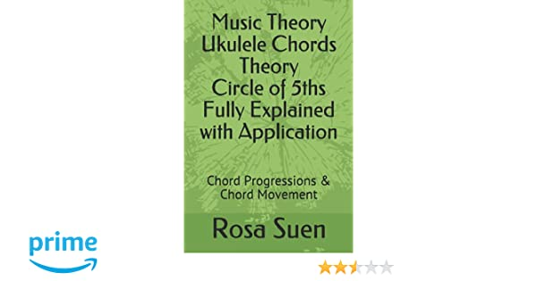 Amazon Music Theory Ukulele Chords Theory Circle Of 5ths Fully