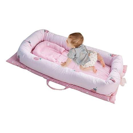 KOBWA Baby Nest Pod para Cama con Suave cojín, Transpirable ...