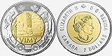 2017 $2 Toonie: The Battle of Vimy Ridge (1 coin)