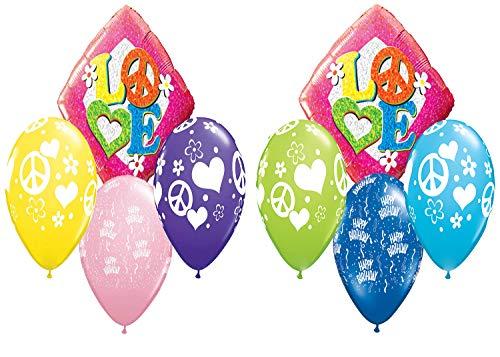 Tie Dye Love Balloon Pack]()