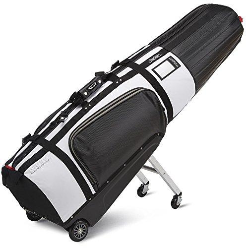 Sun Mountain 2018 ClubGlider Tour Series Golf Travel Cover Bag - Black-White