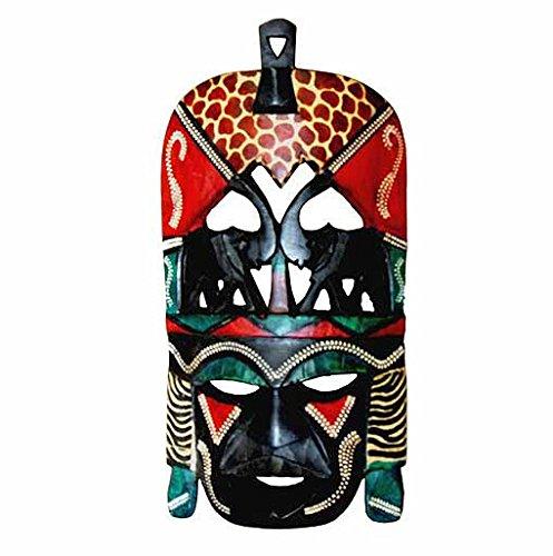 Maasai Decorative Elephant Mask (Hand Made in Kenya)
