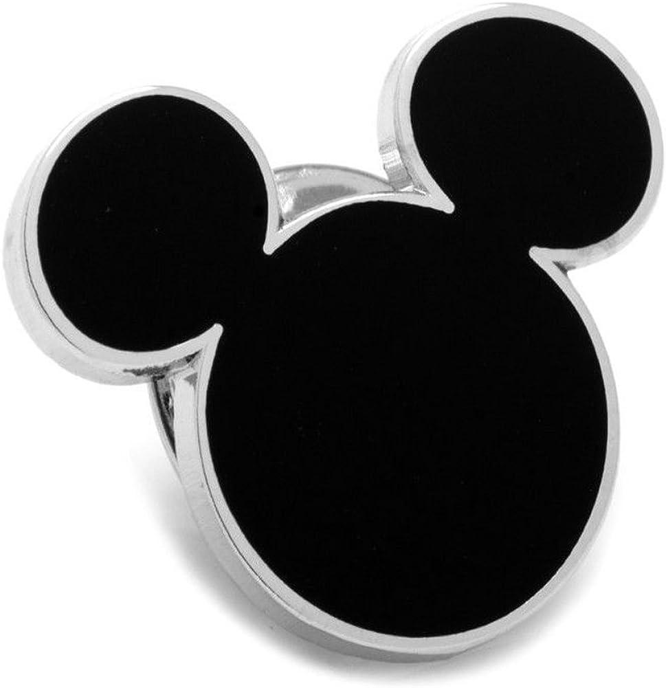 Disney Mickey Ratón Negro la silueta alfileres para corbata ...