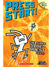 The Super Side-Quest Test!: A Branches Book (Press Start! #6), Volume 6