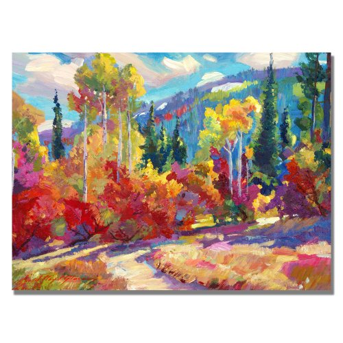 The Colors of New Hampshire by David Lloyd Glover, 18×24-Inch Canvas Wall Art