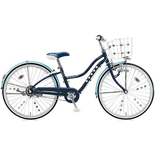 ブリヂストン(BRIDGESTONE) 少女用自転車 ワイルドベリー WB606 スターネイビー 26インチ変速なし B01B7E7DAW