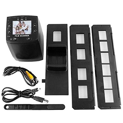 High Resolution Digital 5 MP USB 2.0 TFT Film Scanner HD 35mm Slide Film Scanner Digital Negative Film Converter SD Card Film Scan by Btkuon