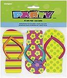 Flip Flop Notepad Party Favors, 12ct